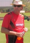 Peter Anderson Cayman Cricket Technical Director
